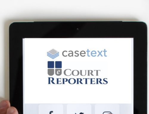 eCourt Reporters is Proud to Join Casetext